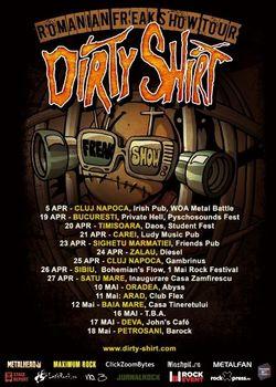 Dirty Shirt pornesc in turneu national!