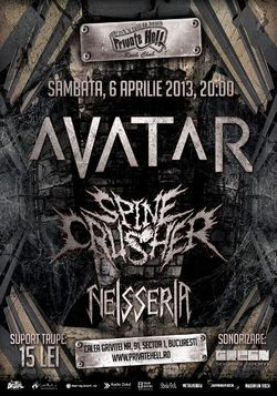 Concert Avatar si Spinecrusher in Private Hell