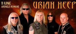 Concert Uriah Heep pe 11 iunie la Bucuresti