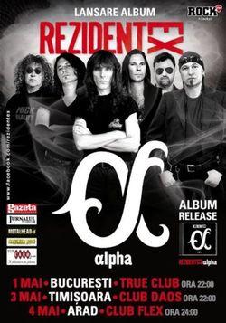 Concert Kempes si Rezident Ex la Club Flex pe 4 mai, 2013