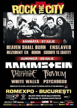 Poze Rock The City 2013: Concert Rammstein la Bucuresti in iulie 2013 - Concerte 2015