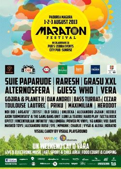Maraton Festival 2013 la Padurea Magura langa Bacau