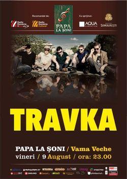 Concert Travka in Vama Veche astazi, 9 August