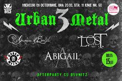 Concert caritabil cu Abigail, L.O.S.T. si Armies of Enlil. In memoriam Cornel Stefan, pe 9 Octombrie in B52