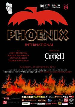 Concert Phoenix la Bucuresti, in Silver Church, pe 28 Octombrie