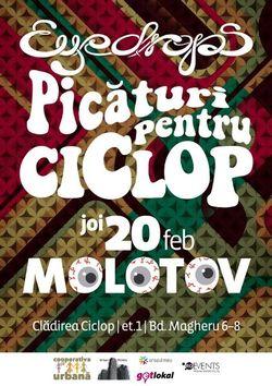 Concert Eyedrops @ Molotov Bucuresti, joi, 20 februarie