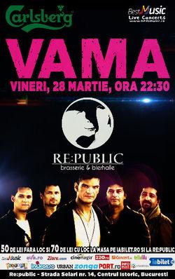 Concert Vama @ Re:public in Centrul Istoric