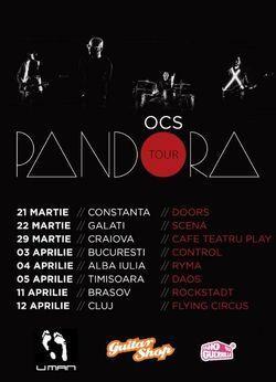 Concert Omul cu Sobolani - Turneu Pandora - la Galeriile RYMA