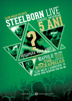 Concert Steelborn in Mojo Club