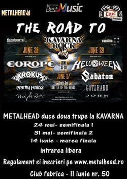 Canta cu trupa ta la festivalul KAVARNA ROCK din Bulgaria !