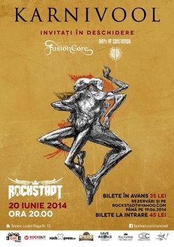 Concert Karnivool pe 20 iunie in Club Rockstadt