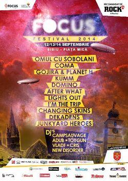 OCS, COMA, KUMM si Gojira, parte din line-up-ul Focus Festival 2014
