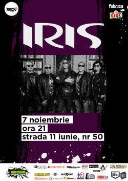 Concert Iris in Club Fabrica Bucuresti