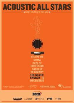 Concert caritabil 'Acoustic All Stars', in Silver Church Bucuresti