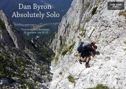 Dan Byron, solistul trupei byron, intr-un concert-experiment solo la Teatrul de Arta Bucuresti