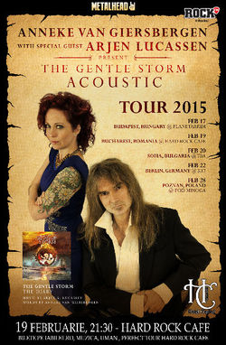 Anneke Van Giersbergen (The Gathering) si Arjen Lucassen (Ayreon) canta la Bucuresti pe 19 februarie