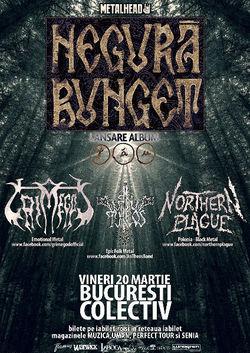 Negura Bunget canta la Bucuresti pe 20 martie in cadrul turneului de lansare al noului album, Tau