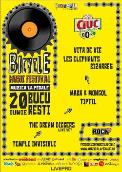Vita de Vie, Les Elephants Bizarres si multi altii, la Bicycle Music Festival
