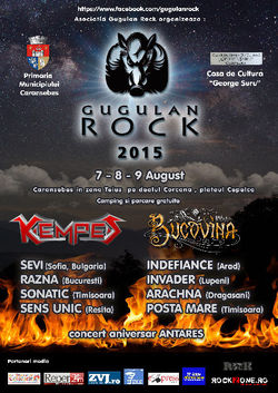 Gugulan Rock la Caransebes intre 7 si 9 August