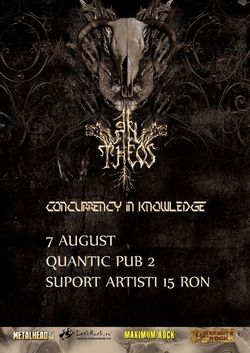 An Theos si Concurrency in Knowledge in Quantic Pub 2 din Bucuresti pe 7 August