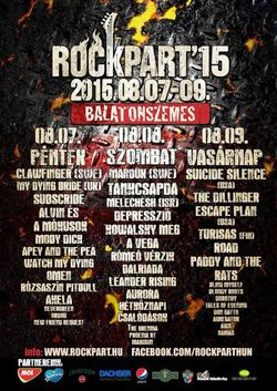 RockPart'15 intre 7 - 9 August in Ungaria