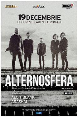 ALTERNOSFERA canta pe 19 decembrie la Bucuresti