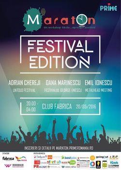 PRIME Maraton: Festival Edition