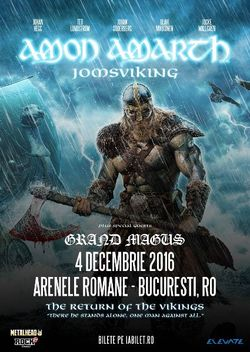 AMON AMARTH - The Return Of The Vikings - 4 decembrie - Arenele Romane