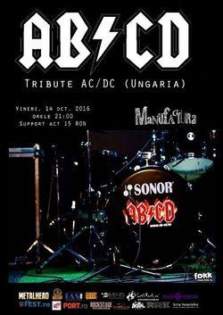 Concert Tribute AC/DC cu maghiarii de la AB/CD la Timisoara