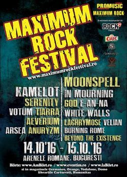Moonspell, prima formatie confirmata la Maximum Rock Festival 2016