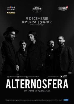 Alternosfera concerteaza in Club Quantic pe 9 Decembrie