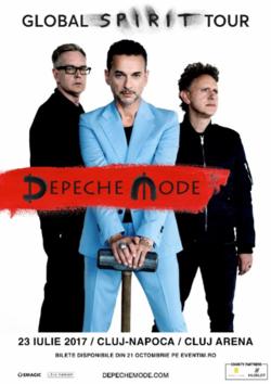 Depeche Mode concerteaza la Cluj pe 23 iulie