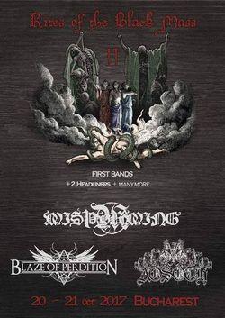 Festivalul Rites Of The Black Mass II va avea loc in perioada 20-21 Octombrie