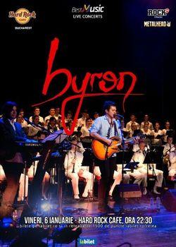 Concert byron pe 6 ianuarie la Hard Rock Cafe