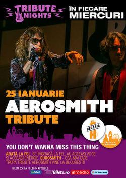Concert EUROSMITH: A Crazy Tribute to AEROSMITH la Beraria H