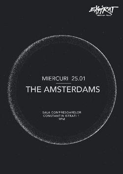 The Amsterdams concerteaza pe 25 ianuarie la Expirat Halele Carol