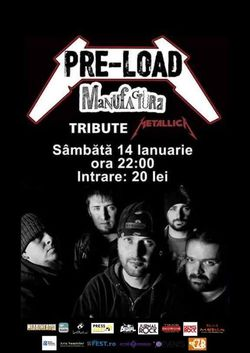Tribut Metallica la Timisoara cu maghiarii de la Pre-Load