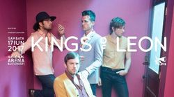 Kings Of Leon in concert la Bucuresti pe 17 Iunie
