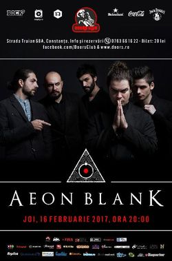 Concert Aeon Blank la Doors Club pe 16 februarie