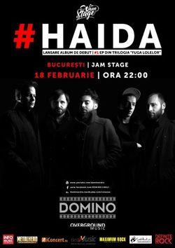 Domino lanseaza albumul 'Haida' la JamStage