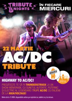 Concert tribut AC/DC cu HIGH/VOLTAGE