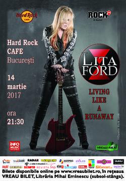 Lita Ford concerteaza pe 14 martie la Bucuresti