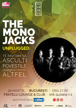 The Mono Jacks concerteaza Unplugged la Bucuresti