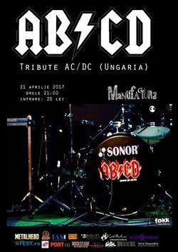 Tribute AC/DC cu maghiarii de la AB/CD in Timisoara
