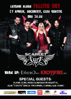 Scarlet Aura lanseaza albumul 'Falling Sky' pe 27 Aprilie