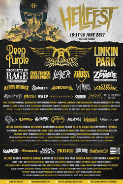 Hellfest Open Air 2017  sold out!