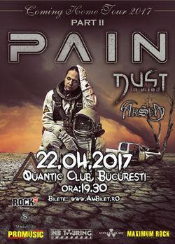 PAIN concerteaza in Bucuresti pe 22 aprilie