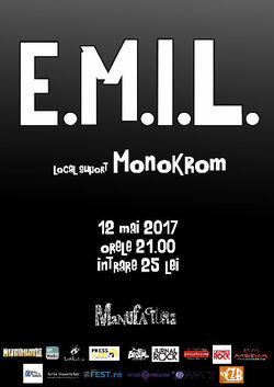 E.M.I.L. si Monokrom live in Manufactura