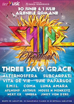 Shine Festival 2017 - 30 iunie si 1 iulie