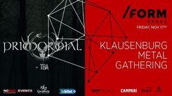 Klausenburg Metal Gathering pe 17 noiembrie la Cluj, in Form Space